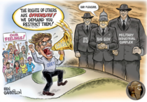 Ben Garrison Cartoon