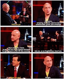 Ben Kingsley - The Colbert Report