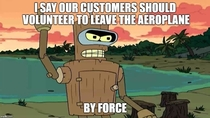 Bender works for United Airlines now