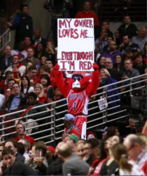 Benny the Bulls reaction to Donald Sterling