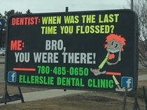 Best dentist ad ever