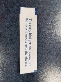 Best fortune Ive ever seen