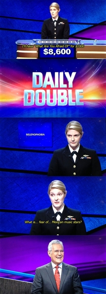 Best Jeopardy response ever