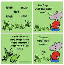 Best of Mouse Ribbit  MyMouseComiccom