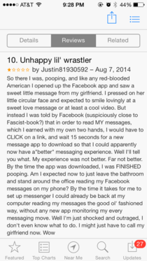 Best review for the new Facebook messaging app