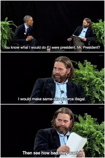 Between Two Ferns with Zach Galifianakis President Barack Obama