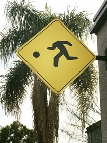 Beware of decapitated man dribbling his own head