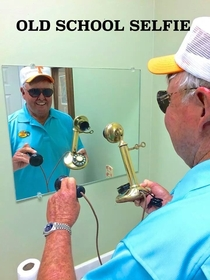 Bill Dance legendary TV fisherman posted his version of a selfie