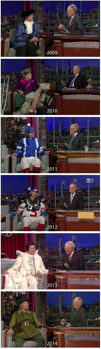 Bill Murray on Letterman