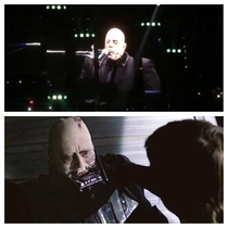 Billy Joel playing harmonica looks like dying Anakin Sywalker