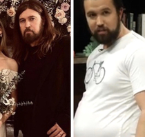 Billy Ray now looks like Fat Mac from Always Sunny