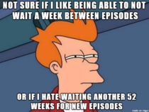 Binge watching all these Netflix original shows has made me wonder