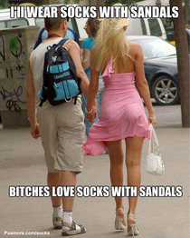 Bitches Love Socks With Sandals