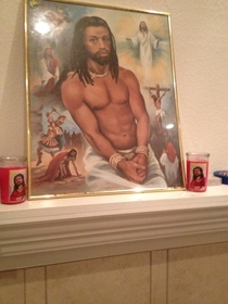 Black Jesus Protector of my apartment