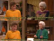 Blanche doesnt grasp the concept of homosexuality