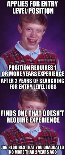 BLB explores the job experience paradox
