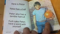 Bloody hell Peter