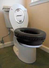 Bose Noise Cancelling Toilet