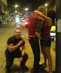 Bouncers get to meet interesting people
