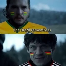 Brazil remembers Prepare your german booties for the zuera memes