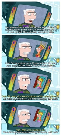 Breaking the th wall Phineas and Ferb