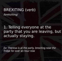 Brexiting is my primary skill