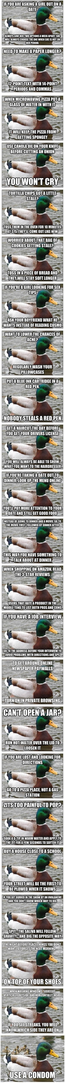 Bringing Actual Advice Mallard back to its roots