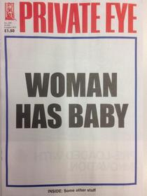 British satire and current affairs Mag captures the Royal birth perfectly