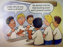 Brushing alone isnt enough