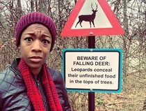But no warnings about leopards