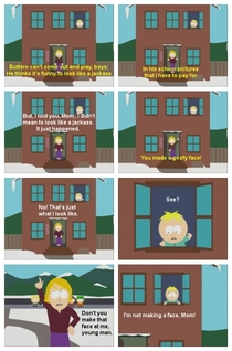 Butters just cant win