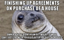 Buying a house got really uncomfortable really fast