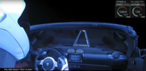 By far the best part of the SpaceX Falcon Heavy launch