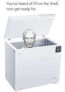 Caesar in a freezer