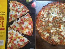 California Pizza Kitchen Great by frozen pizza standards