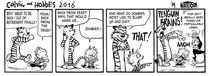 Calvin and Hobbes  - out of retirement