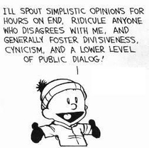 Calvin the worlds first redditor