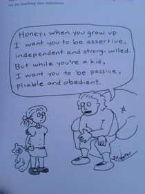 Came across this cartoon in a teaching book So true