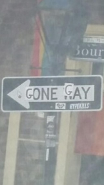 Came across this when I passed by Bourbon Street