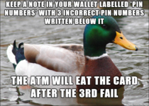 Came up with this trick when I traveled through Europe in case I ever had my wallet stolen