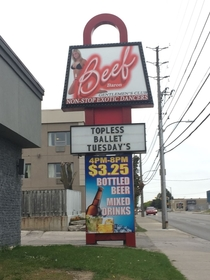Canada has the classiest strip clubs