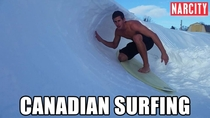 Canadian Surfing