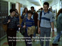 Cant stop thinking of this line in Freaks and Geeks Sad but true and a little bit funny thanks to Neal