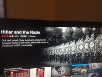 Cant tell if Netflix is glitching or being friggin hilarious