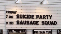 Cant wait to see sausage squad