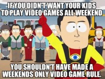 Captain Hindsight Parents and Video Games