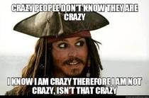 Captain Jack Sparrow is not wrong