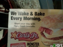 Carls Jr seems to know their customer base