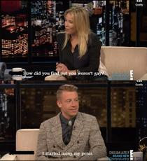 Chelsey Handler asked Macklemore about his sexuality
