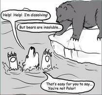 Chemistry jokes are unbearable